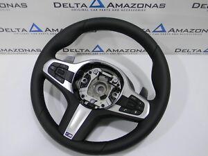 BMW M G30 G31 F90 m5 F91 F92 m8 Sport Cuir Direction Volant Leath Airbag