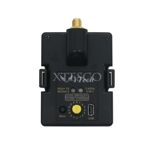 4-In-1 STM32 Multiprotocol TX Module Case for FRSKY IRX4 Plus 2.4G CC2500 xs90