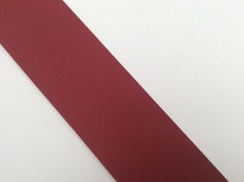 CRIMSON RED ~ Fabric Cloth Book Binding Spine Repair Tape Half Metre x 8cm Wide