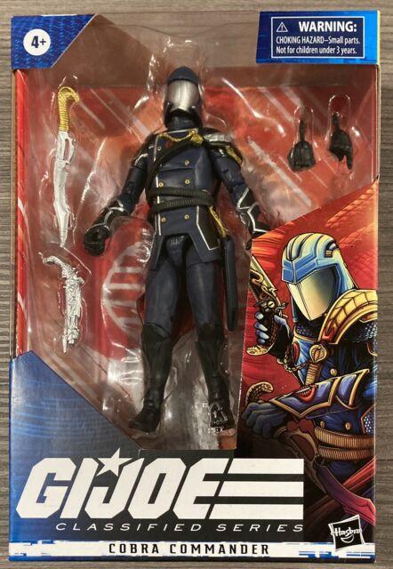 2020 G.I. Joe Classified Series 6-Inch Cobra Commander Figure Wave 2 New IN HAND