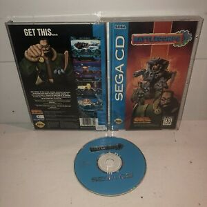 Battlecorps-Sega-CD-1993-Complete-CIB-Game-TESTED-Works-Well