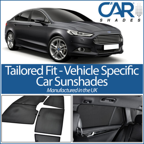 Ford Mondeo 5dr 2015 On CAR WINDOW SUN SHADE BABY SEAT CHILD BOOSTER BLIND UV