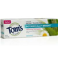 Tom's Of Maine Botanically Bright Toothpaste, Spearmint 4.7 Oz (pack Of 9) on sale