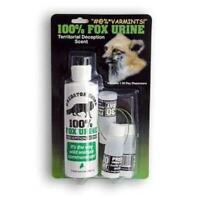 Fox Urine Combo With 3 Dispensers Varmint Repellent