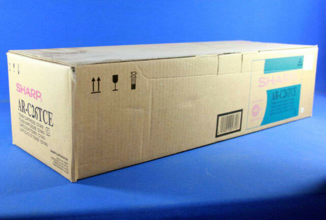 GENUINE SHARP AR-C26TCE CYAN TONER BRAND NEW IN BOX