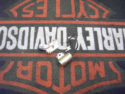 New Points /& Condenser for Harley SHOVELHEAD 70-78 /& Ironhead Sportster XL 71-78