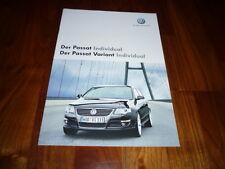 VW Passat Individual Prospekt 06/2007