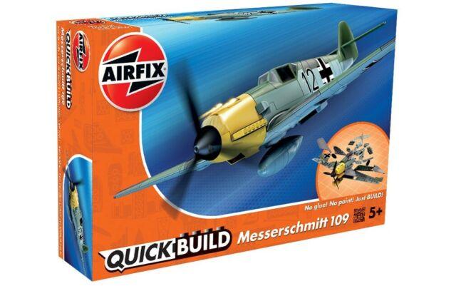 J6001 Airfix Messerschmitt Bf109e Quickbuild Click Rapide Ensemble