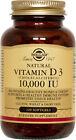 Solgar Vitamin D3 Cholecalciferol 10000 IU Softgels 120 Count