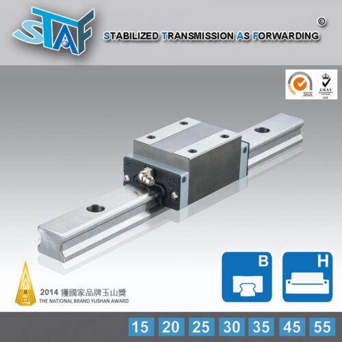 STAF BGXH25BL-1-L340-N-Z0 25Type Linear Guide 340L 2 Rail 2 Block THK//HIWIN Type