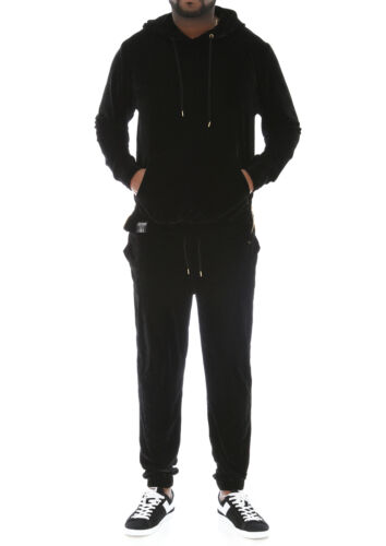 Contender Men/'s Velour Hoodie and Jogger Pants Tracksuit
