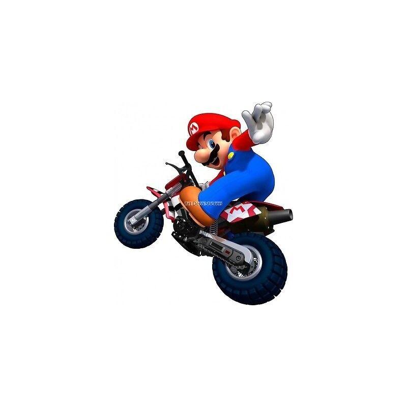 Adesivi Adesivi Adesivi Mario Moto 15082 3bb808