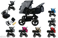 Combi 4 In 1 Pushchair Sport Stroller Carry Cot Soft Carry Bag Colours Ekmbaby