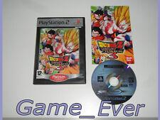 DRAGON BALL Z BUDOKAI TENKAICHI 3 - PS2 PS3 60GO - POCHETTE FR NL - JEU FR ENG