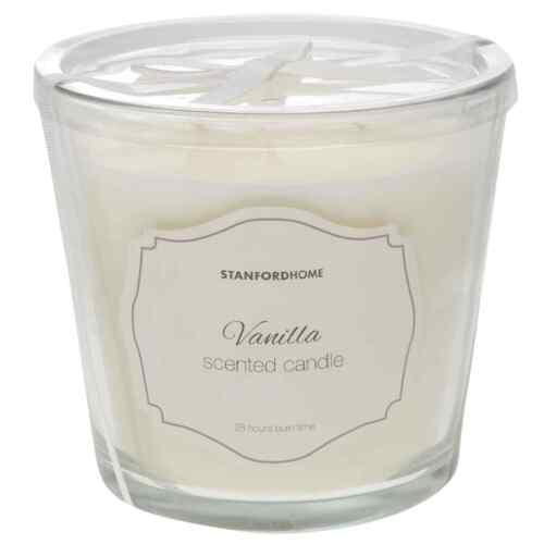 Stanford Home 3 Wick Candle Jar Unisexe parfumée