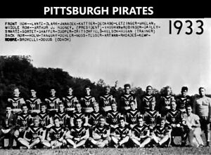 13b8d2f3abe Image is loading 1933-PITTSBURGH-STEELERS-PIRATES-8X10-TEAM-PHOTO-FOOTBALL-