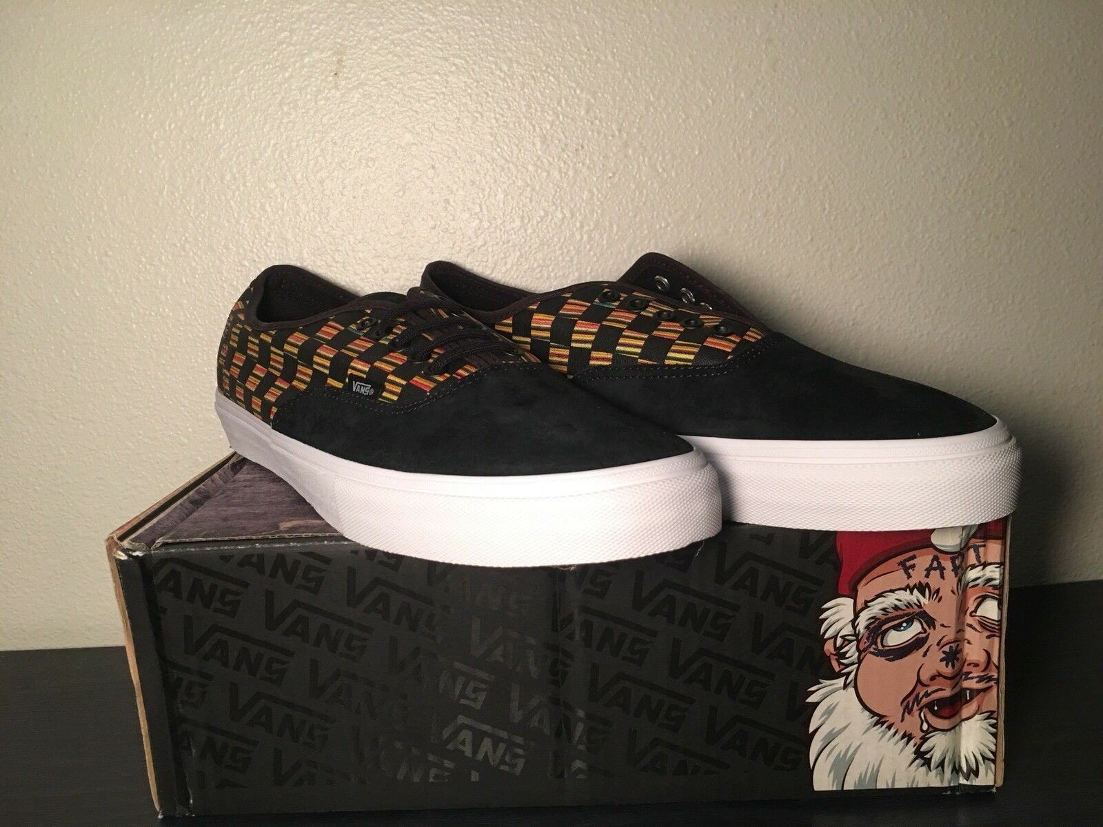 Vans Authentic Sean Cliver Syndicate New In Box Rare NOS