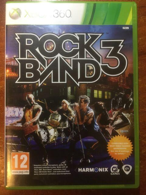Rock Band 3 - Rockband3 - Xbox 360 - Like New disc