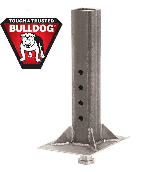Bulldog Gooseneck to 5th Wheel Trailer Coupler Adapter - Inner Tube - Square 30K