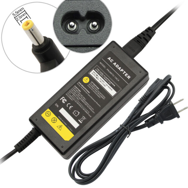 65W AC Adapter Power Supply&Cord for Dell Inspiron 1000 1200 1300 2200 B120 B130