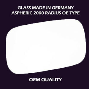 9-3 9-5 93 95 900 SAAB 1993-2002  WING  MIRROR GLASS ELECTRIC HEATED  RIGHT
