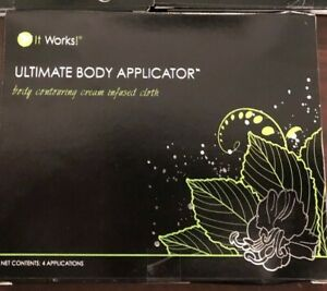 IT-WORKS-1-PACK-OF-4-Body-Wraps-Ultimate-Applicators-Tone-Tighten-Firm