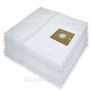 10-x-Cloth-Vacuum-Bags-For-Nilfisk-ACTION-A100-A200-82215200-Hoover-Bag