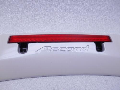 08 09 10 11 12 New OEM Honda Accord Sedan Rear Spoiler Raised White Diamond