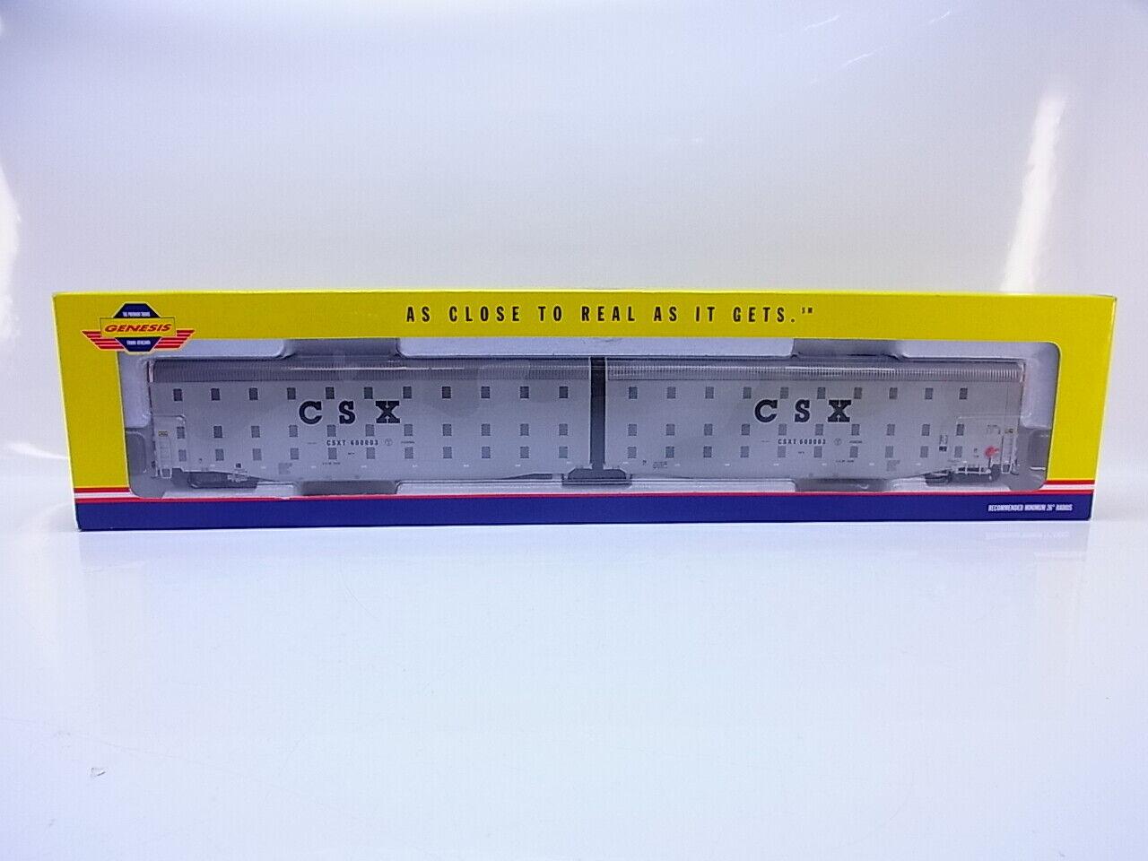 55060 55060 55060 ATHEARN Genesis h0 g4406 US CSX auto-MAX cstx600003 non aperto in scatola originale a2b3a3