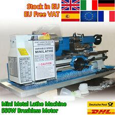 Euuk Free550w Metal Mini Lathe Benchtop Machine Variable Speed Lathe Milling