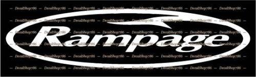 Vinyl Die-Cut Peel N/' Stick Decals//Stickers Rampage Yachts Outdoor Sports