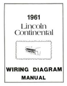 image is loading lincoln-1961-continental-wiring-diagram-manual-61