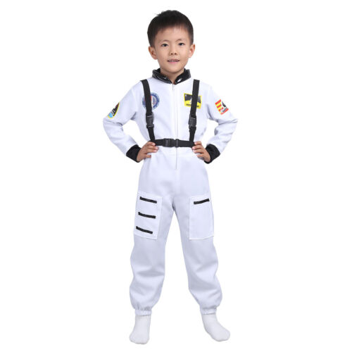 Boys Fireman Police Surgeon Doctor Lab Costumes Kids Carnival Party Cosplay Wear