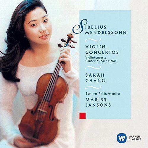 SARAH CHANG-MENDELSSOHN: VIOLIN CONCERTO NO.1 & SIBELIUS: VIOLIN...-JAPAN CD C68