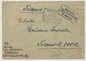 Bayern-Posthilfsstelle-SELTMANNS-ZP-Sibratshofen-BAHNPOST-auf-FP-Brief-45844