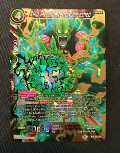 King Piccolo Terror Unleashed BT5-022 Holo Dragon Ball Super Miraculous Revival