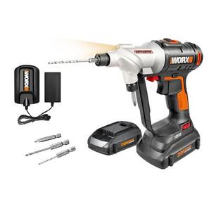 Wx176l Worx 20v Switchdriver Cordless Drill Amp Driver