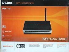 D Link WBR 1310 4Port 10/100 Wireless G Router switch LAN WAN broadband modem