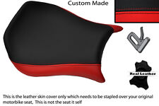 RED & BLACK CUSTOM FITS DUCATI MONOPOSTO 748 916 996 998 LEATHER SEAT COVER