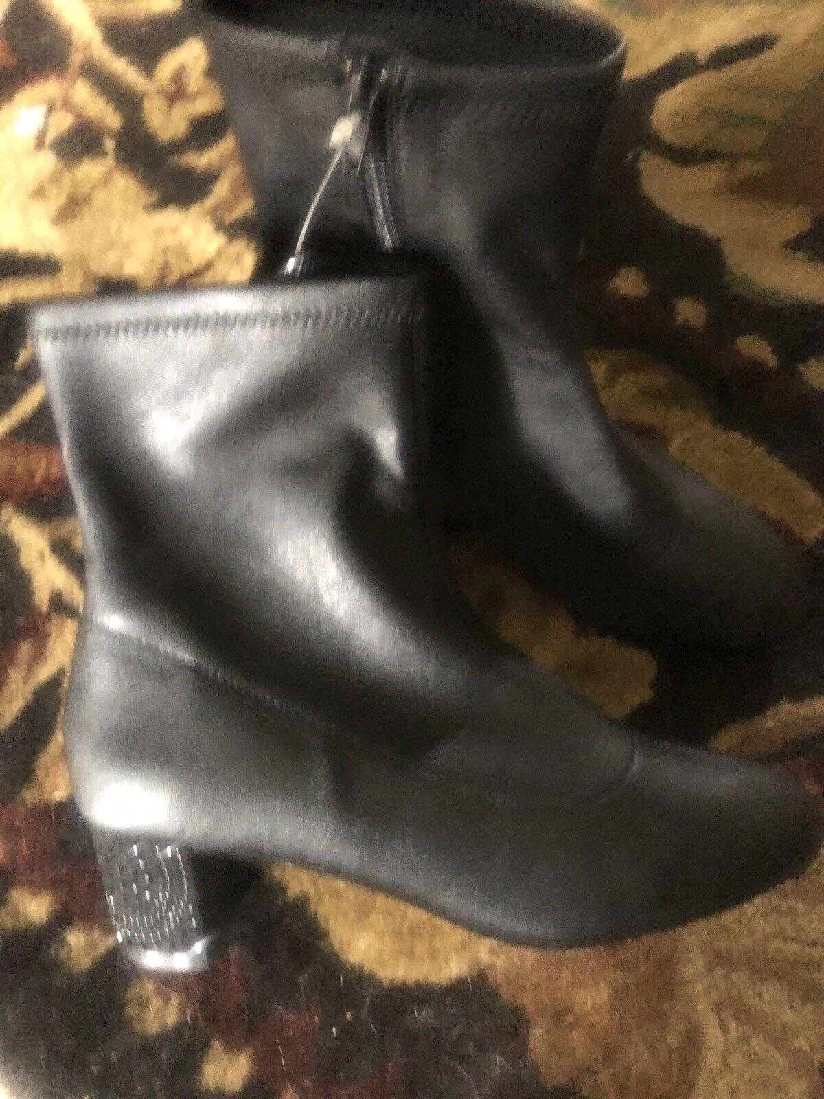 Badgley Mischka American Glamour Rhinestones Heel   démarrageie Sz 6