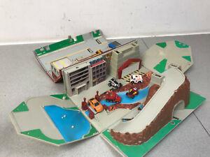 Galoob-Toys-Micro-Machines-Caja-de-herramientas-Vintage-Super-Ciudad-Conjunto-de-Juego-1988