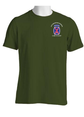 10th Mountain Division Cotton Shirt-1973
