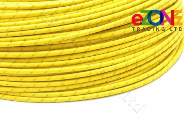 Silicone Coated Glass Fibre Sleeving High Temperature 20mm Bore x 5 metres Black