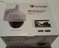 Dericam Wifi Wireless Outdoor Ip Security Camera, Ptz Camera, 4x Optical Zoom,