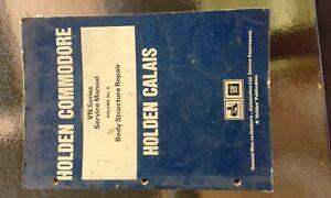 Commodore-Body-repair-manual-Smash-repair-information-to-repair-VN-and-Calais