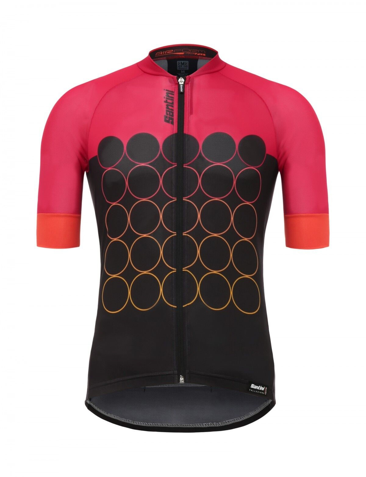 AIRFORM 3.0 Cycling Jersey in rosso Made in  by Santini