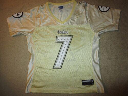 Lg Nfl Pittsburgh L Reebok Ben Maglia 7 Steelers Oro Donna Roethlisberger Da UqvqEHxwXY