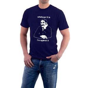 """Groucho Marx T-shirt """"Whatever it Is I'm Against it"""" Tee by Sillytees"""
