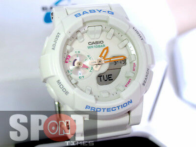 Casio Baby G Runner Popular Clean Colour Ladies Watch Bga 185 7a Ebay