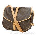 Auth Louis Vuitton Monogram M42254 Saumur 35 Shoulder Bag